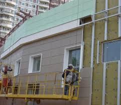 Отделка фасадов домов декоративными панелями